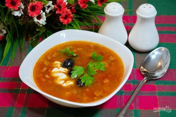 рецепты солянки пошаговая инструкция