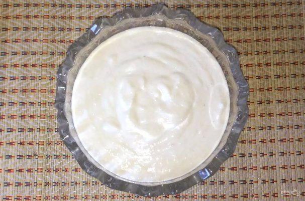Соус из взбитой белой фасоли