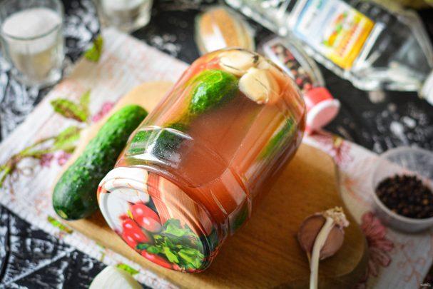Огурцы маринованные с кетчупом на зиму
