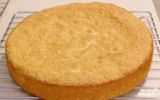 Легкий бисквит