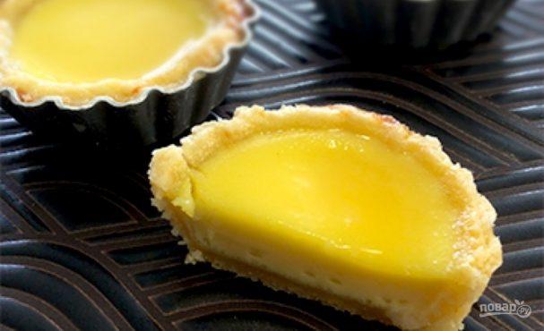 Яичный тарт (тарталетки)