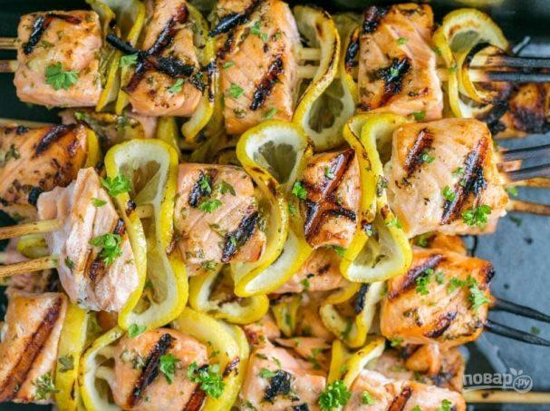 Рыба для шашлыка