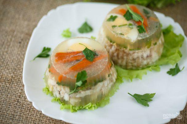 праздничное рыбное заливное рецепт