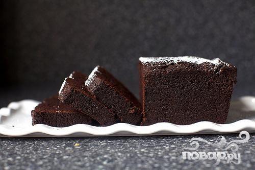 Шоколадный кекс