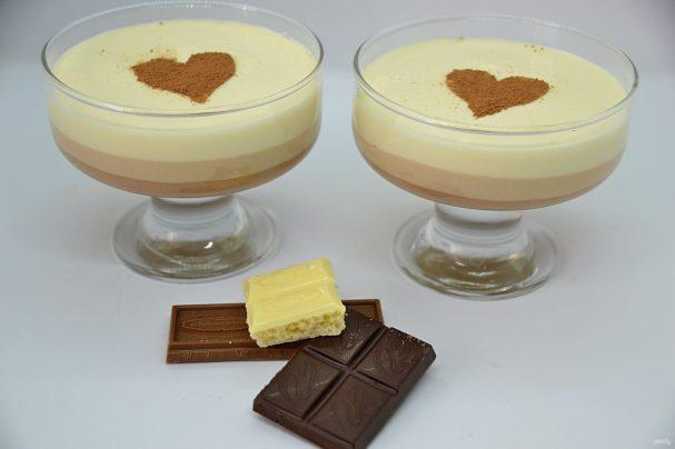 """Десерт """"Три шоколада"""""""