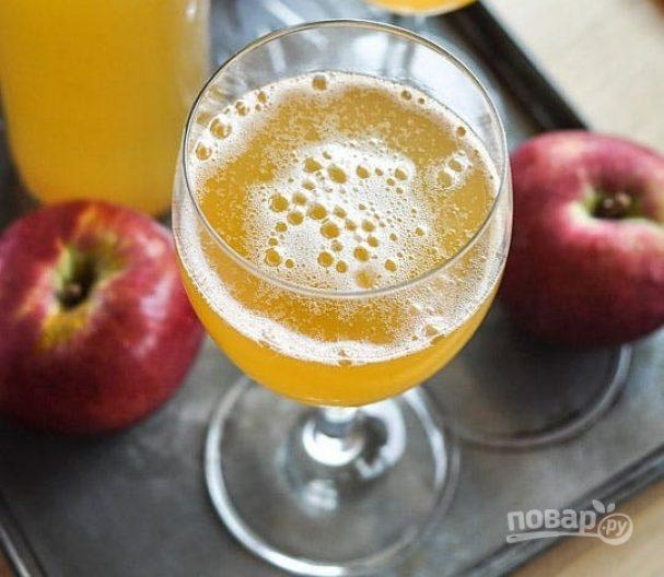 Рецепт сидра из яблочного сока