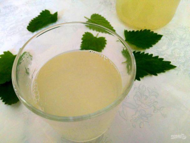 Лимонад из мяты и щавеля