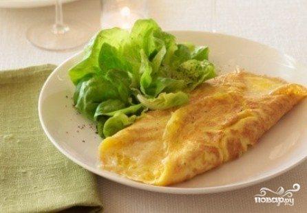 Французский омлет на завтрак