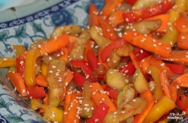Овощи в воке