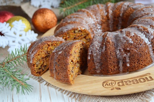 Морковный пирог (Правильное Питание)