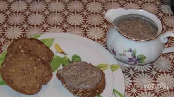 Грибной соус из шампиньонов со сметаной