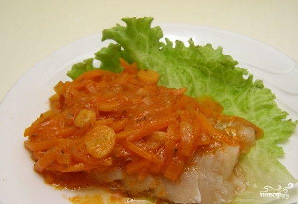 Рыба тушеная под маринадом (классический рецепт)