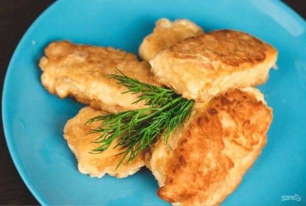 Жареный сыр (горячая закуска)