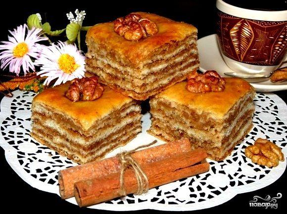кумыкские пирох пахлава рецепт