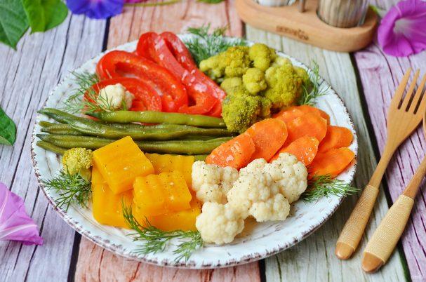 """Овощи на пару """"Вкусные"""""""