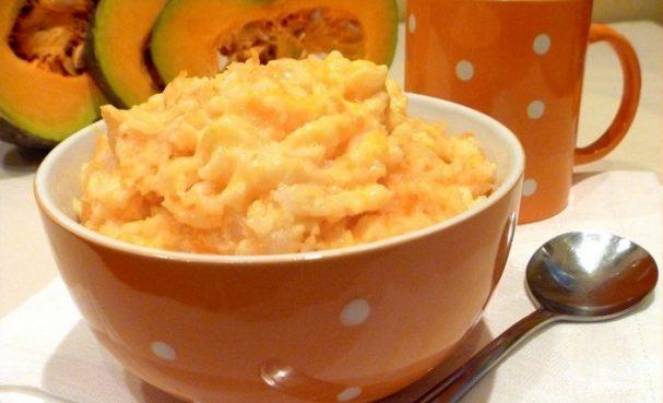 Рис с тыквой в мультиварке