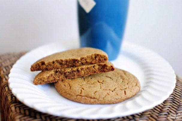 Простое имбирное печенье
