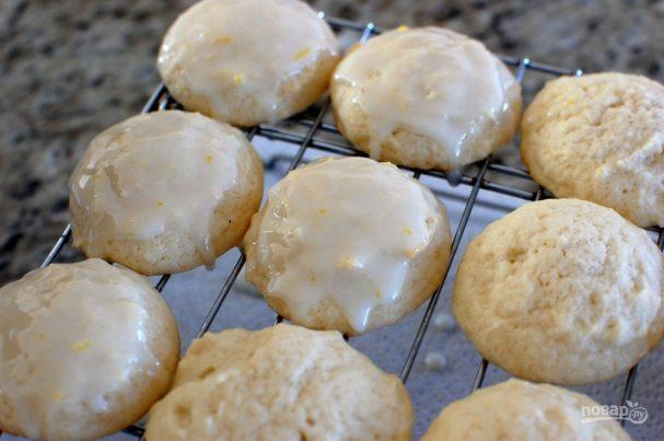 """Лимонное печенье с сыром """"Рикотта"""""""