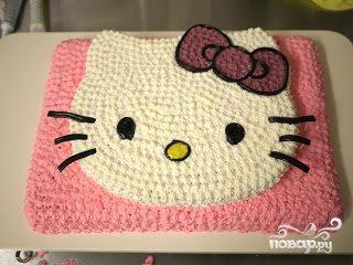 """Торт """"Хелло Китти"""""""