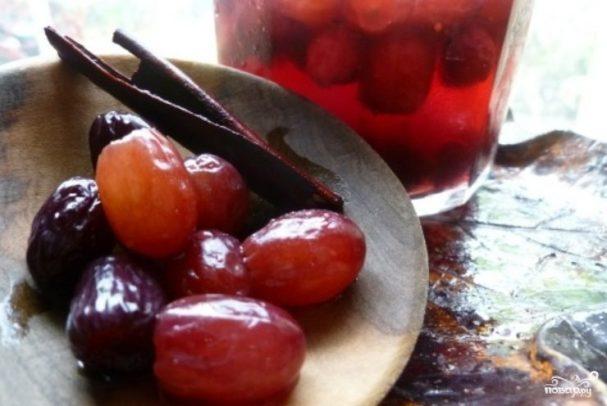 Закатка винограда на зиму