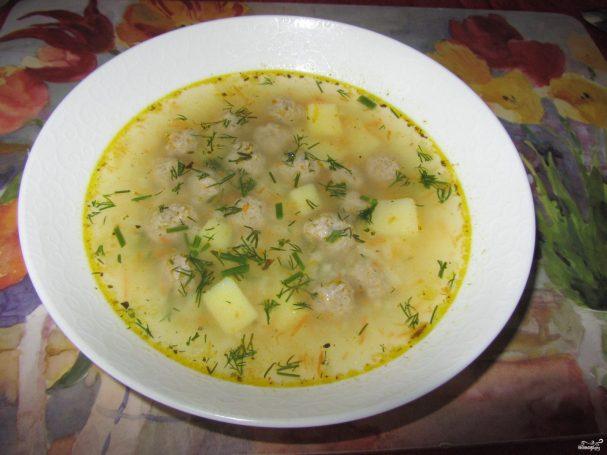 суп с рисом рецепт на скорую руку