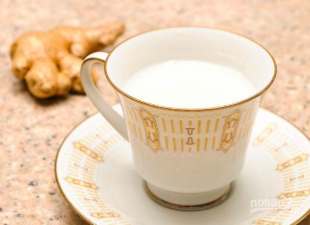 Чай из имбиря