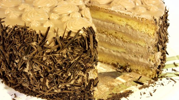 "Торт ""Нежность"" со взбитыми сливками"