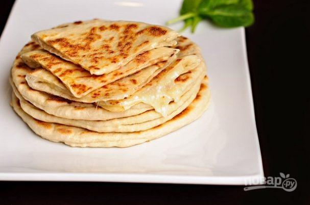 """Простой рецепт """"Хачапури"""" с сыром"""