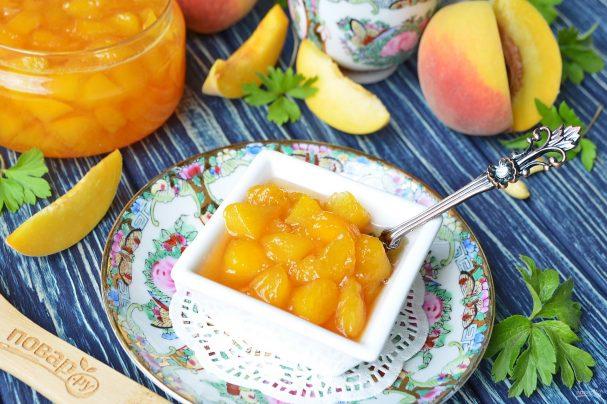 варенье из персика рецепты