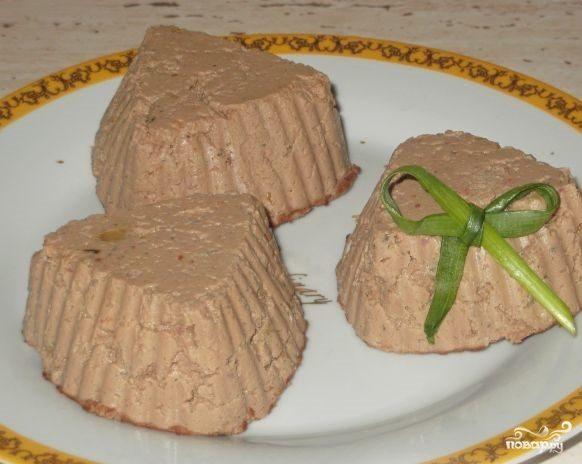 Домашний паштет из куриной печени