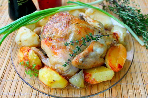 Цыпленок с соевым соусом