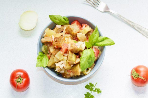Овощи по-армянски на костре