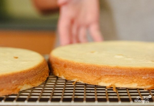 Вкусные коржи для торта