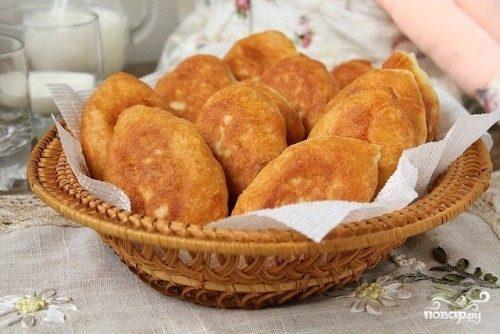 Воздушные пирожки на сковороде