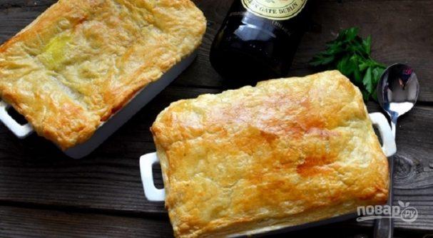 Рецепт вкусного мясного пирога