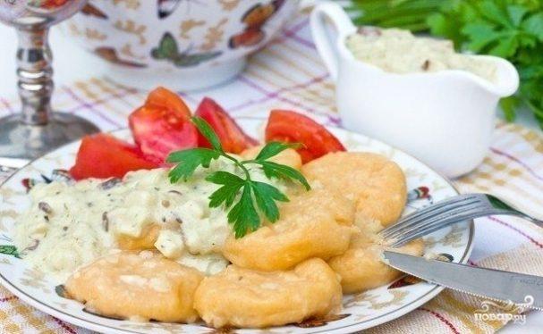 Ньокетти из картофельного пюре