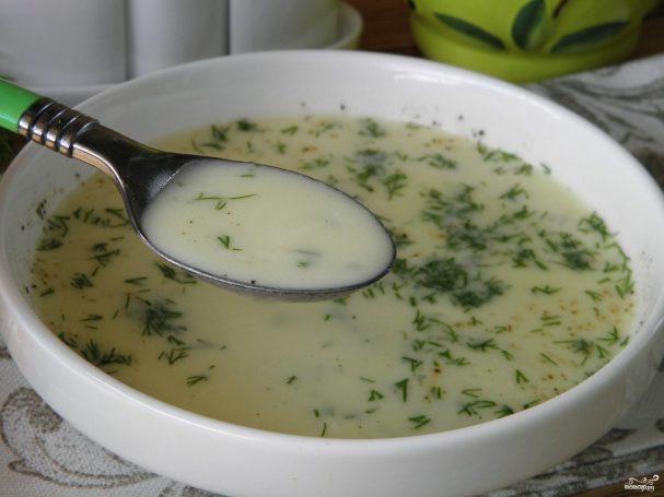 Сырный суп из плавленых сырков