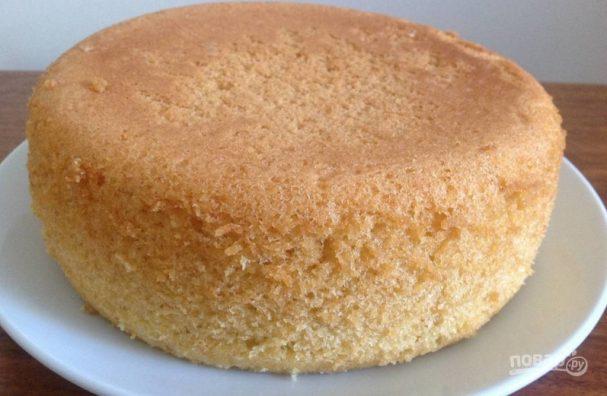 как приготовить пышныи бисквит