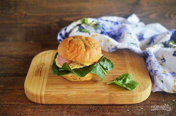 Сэндвичи в микроволновке на завтрак