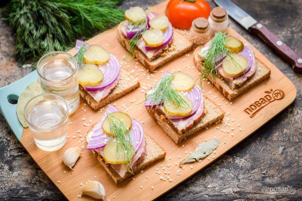 Бутерброды под водочку