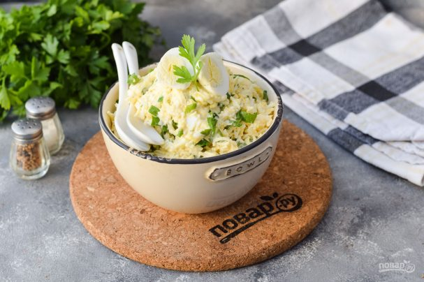 Салат с плавленым сыром