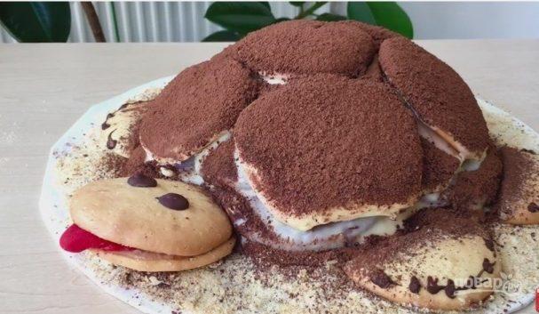 рецепт черепашки торт