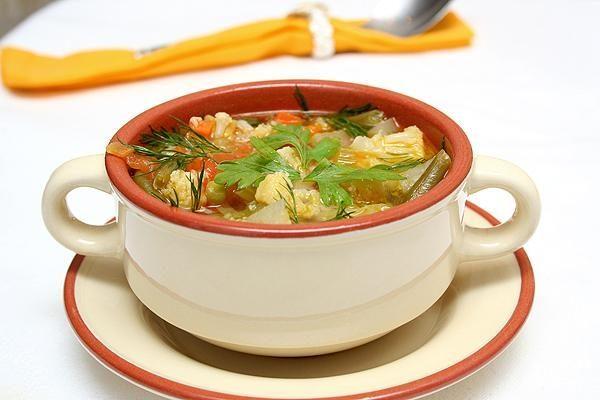 Франкфуртский овощной суп