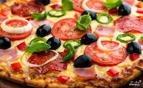 Пицца в домашних условиях в духовке