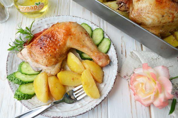 Курица с медом