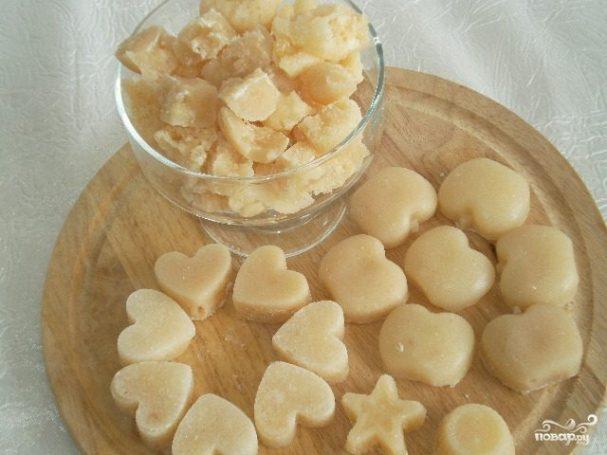 как сделать вареный сахар на молоке