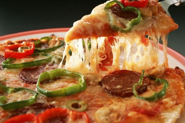 Итальянская тонкая пицца