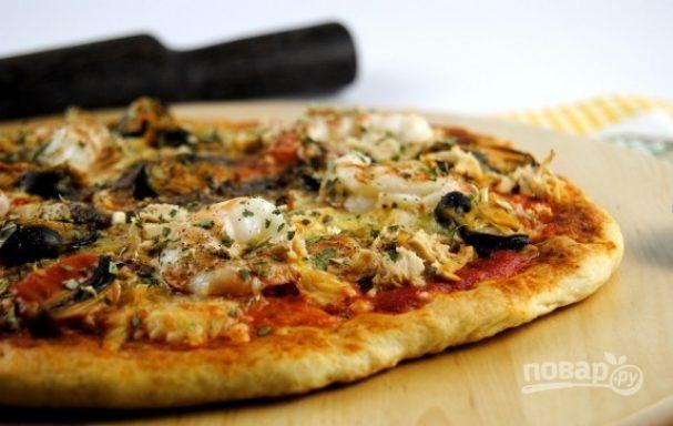 Быстрый рецепт пиццы в духовке