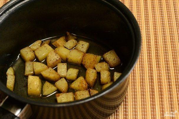 Картофель с карри