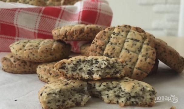 Печенье с маком на скорую руку